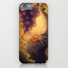 Marbled Orb Weaver iPhone Case