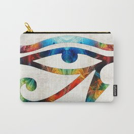 Eye of Horus - Art By Sharon Cummings Carry-All Pouch