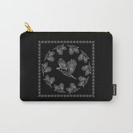 World crows. Crows in different framework, round, square. Carry-All Pouch