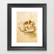 skull4 Framed Art Print