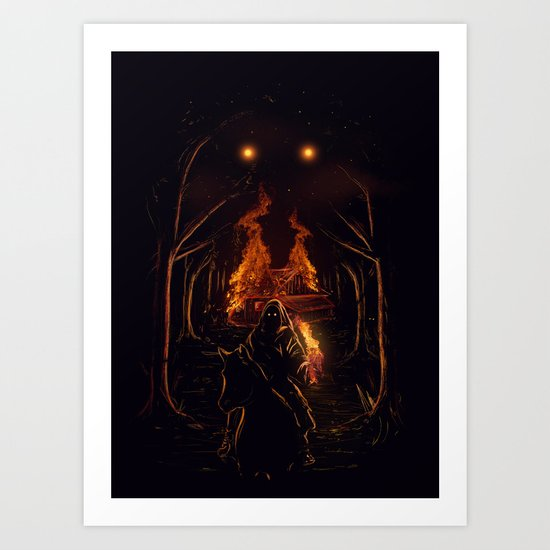 The Arsonist Art Print