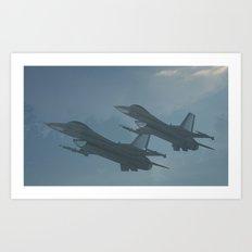 Ghost Flight Art Print