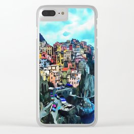 Manarola Clear iPhone Case