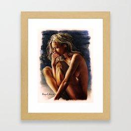 Femme/5 Framed Art Print
