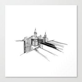 Vibrant city 6 Canvas Print