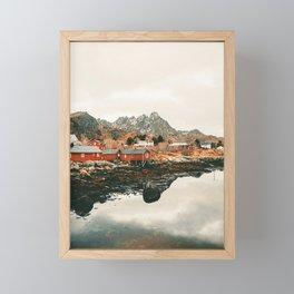 Norway Framed Mini Art Print