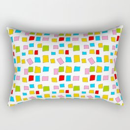 rectangle and abstraction 3-mutlicolor,abstraction,abstract,fun,rectangle,square,rectangled,geometri Rectangular Pillow