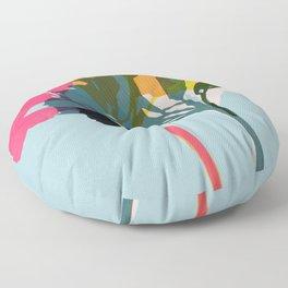 alstroemeria 13 Floor Pillow