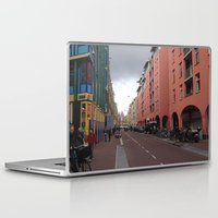 greg guillemin Laptop & iPad Skins featuring Amsterdam - Greg Katz by Artlala for MSF Doctors Without Borders