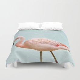 Flamingo Summer Vibes Duvet Cover