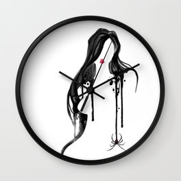 Spider's Kiss II Wall Clock