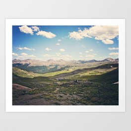 Colorado Sky Art Print