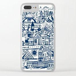 Buenos Aires Argentina Clear iPhone Case