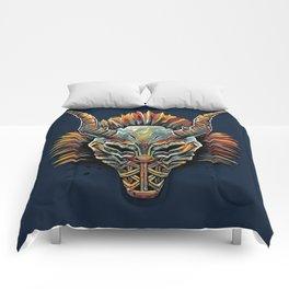 Killmonger Tribal Mask Comforters