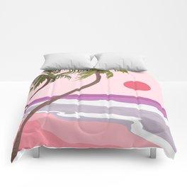 Tropical Landscape 01 Comforters