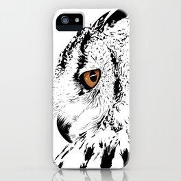 Gufo Bianco iPhone Case