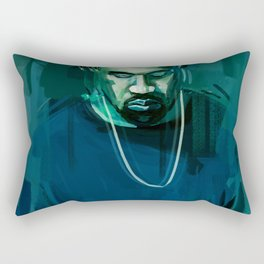 Wild Singer Rectangular Pillow