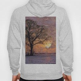 Travel to Sunset 04 (Winter) Hoody