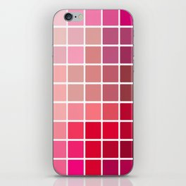 50 Shades of Red iPhone Skin