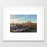 venice Framed Art Prints featuring Venice by Lorenzo Bini