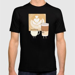 Latte art T-shirt