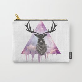 Pastel Goth Galaxy Deer Carry-All Pouch