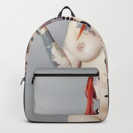 Cat Meow Tattoo Model Backpack