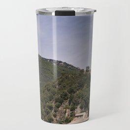 Olargues France Travel Mug