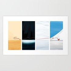 (the) Journey  Art Print