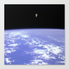 """Space Walk"" Canvas Print"