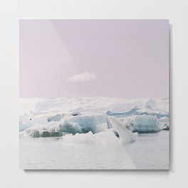 Icebergs XI Metal Print
