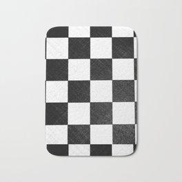 Dirty checkers Bath Mat