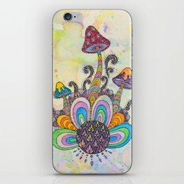 Planet Shroom iPhone Skin