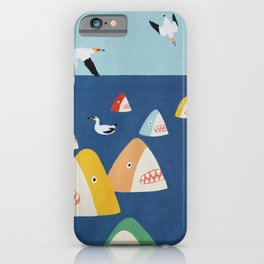 Shark Park iPhone Case