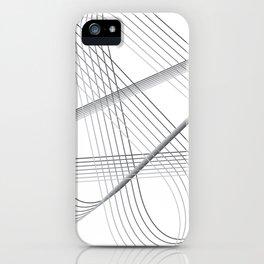 Neverending lines iPhone Case