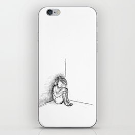 lonely 1 iPhone Skin
