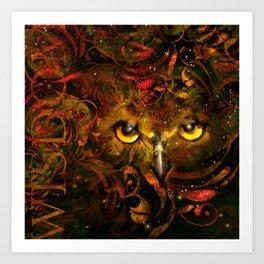 Owl See You Art Print