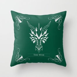 Legend of Sanctuary: The Wise Throw Pillow