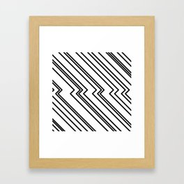 Break Framed Art Print