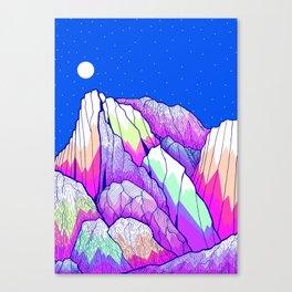 The vibrant Peak Canvas Print