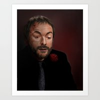 crowley Art Prints featuring Crowley by San Fernandez