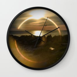 Midnight Sun and The Ring Of Fire Wall Clock