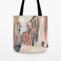 Italy, watercolor Tote Bag