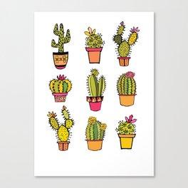 little piece of desert ... Canvas Print