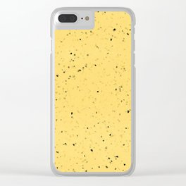 vinilla with ground bean Clear iPhone Case