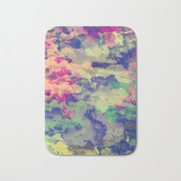 Abstract painting X 0.3 Bath Mat