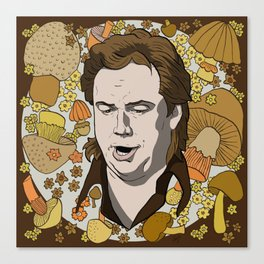 Bill Hicks (in the voice of God) Canvas Print