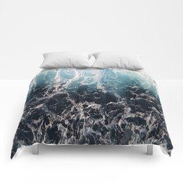 Blue Wave Surf Comforters