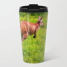 Wild Wallaby - Australian Animal Travel Mug