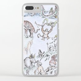 Zodiaco Clear iPhone Case